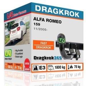 Dragkrok till ALFA ROMEO 159 fast dragkrok dragkrok365.se