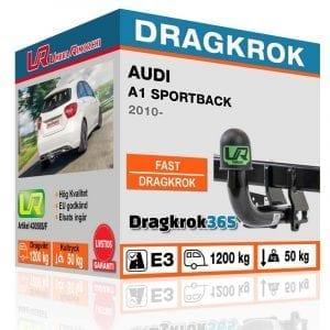 Dragkrok till Audi A1 Sportback – fast dragkrok - dragkrok365.se