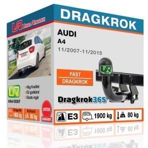 Dragkrok och elsats till audi a4 - fast dragkrok - dragkrok365