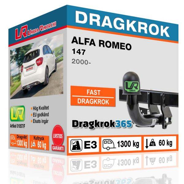 Dragkrok alfa romeo 147