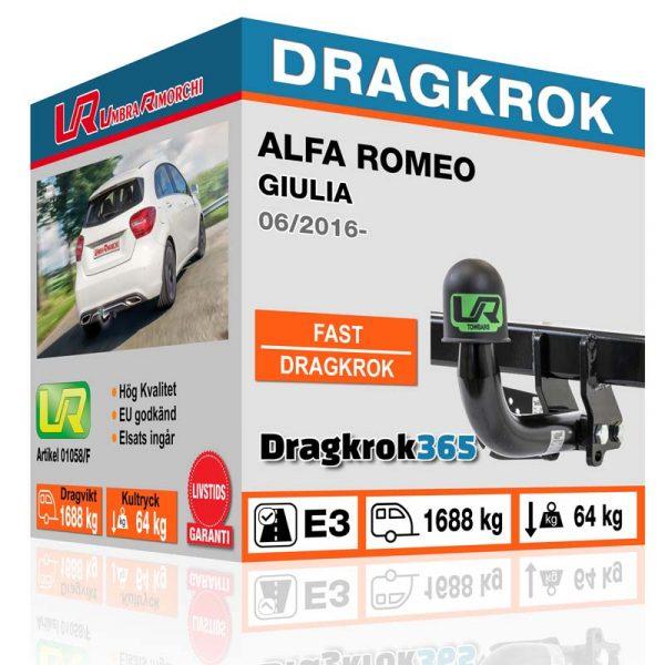 Dragkrok alfa romeo dragkrok365