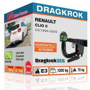 dragkrok till clio köp på dragkrok365.se