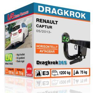 dragkrok till captur köp på dragkrok365.se