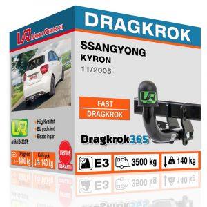 Dragkrok till Ssangyong Kyron