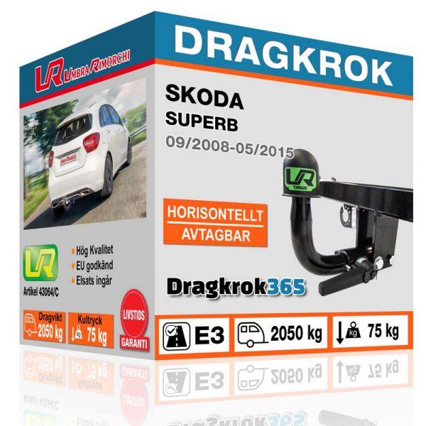 dragkrok till skoda superb köp på dragkrok365.se