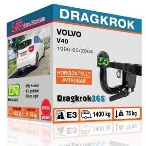 dragkrok till volvo v40 köp hos dragkrok365.se