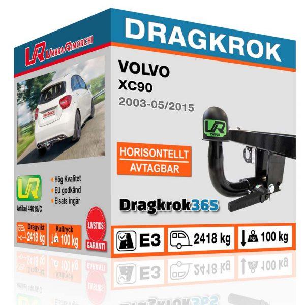 dragkrok till volvo xc90 köp på dragkrok365.se