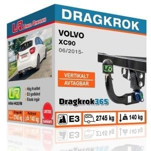 köp dragkrok till volvo xc90 hos www.dragkrok365.se