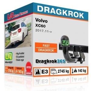 dragkrok till VOLVO XC60 fast dragkrok dragkrok365.se